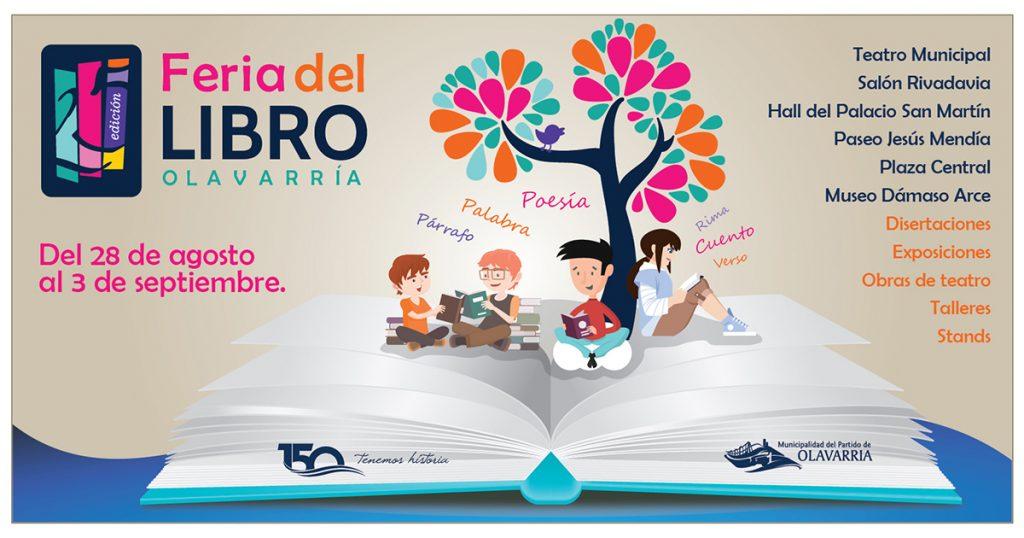 25ª Feria del Libro | | Municipalidad del Partido de Olavarría