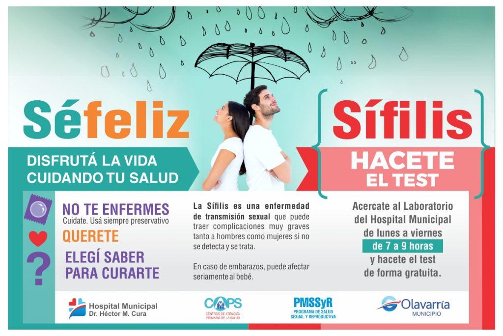 Frases De Prevencion De La Sifilis: Campaña De Prevención Y Diagnóstico Temprano De Sífilis